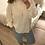 Thumbnail: Blusa boho branca Vintage Bazaar