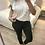 Thumbnail: Blusa branca bordado inglês