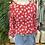 Thumbnail: Bomber jacket flores vermelho