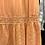 Thumbnail: Vestido midi algodão e bordado inglês salmão