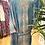 Thumbnail: Kimono comprido seda verde água