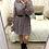 Thumbnail: Vestido estampado preto
