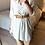 Thumbnail: Camisa/túnica florzinhas beje