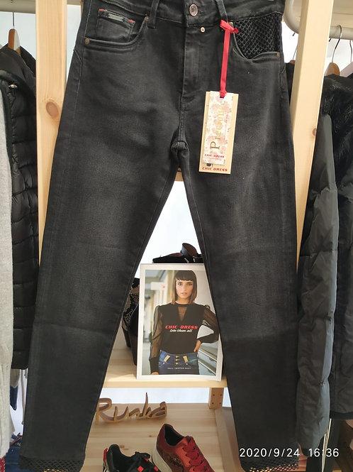 Calças preta Lift Chic Dress
