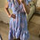 Thumbnail: Vestido seda assimétrico celeste