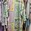 Thumbnail: Kimono cetim estampa verde