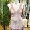 Thumbnail: Top acetinado com renda rosa
