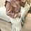 Thumbnail: Blusa acetinada folhos rosa