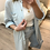 Thumbnail: Camisa/túnica florzinhas celeste
