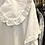 Thumbnail: Vestido branco com gola baby