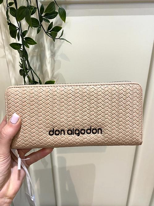 Carteira grande nude Don Algodon