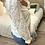 Thumbnail: Blusa bordada flores cru
