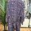 Thumbnail: Kimono seda marinho/rosa