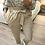 Thumbnail: Calças cintura subida beje