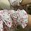 Thumbnail: Vestido florzinhas com folhos rosa