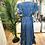 Thumbnail: Vestido seda assimétrico azulão