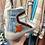 Thumbnail: Sapatilha bota estrela azul/grená