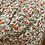 Thumbnail: Saia comprida estampa flores laranja/verde