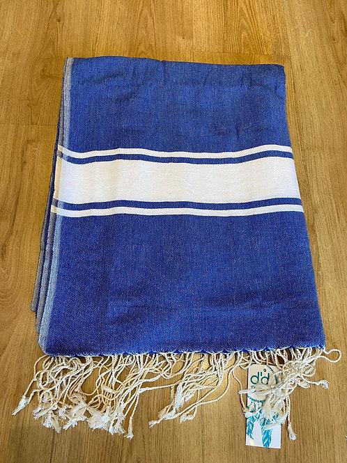Toalha de praia XL azul