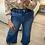 Thumbnail: Calças pantalonas ganga