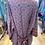 Thumbnail: Kimono seda cinza/vermelho