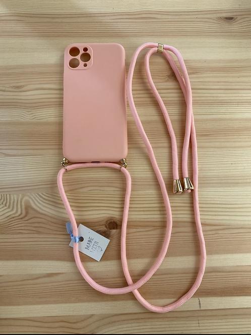 """Capa de telemóvel Iphone 11 PRO 5.8"""" liso salmão"""