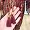 Thumbnail: Vestido seda manga larga vermelho