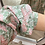 Thumbnail: Vestido camisa folhos rosa/verde
