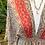 Thumbnail: Vestido estampado água/vermelho