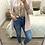 Thumbnail: Casaco de malha comprido rosa claro