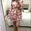Thumbnail: Vestido estampado floral rosa