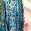 Thumbnail: Kimono comprido seda azul