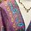 Thumbnail: Vestido seda manga larga alfazema