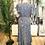 Thumbnail: Vestido seda assimétrico turquesa