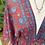 Thumbnail: Vestido estampado vermelho/azul