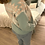 Thumbnail: Camisola de malha com gola verde