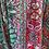 Thumbnail: Vestido seda assimétrico azul/roxo