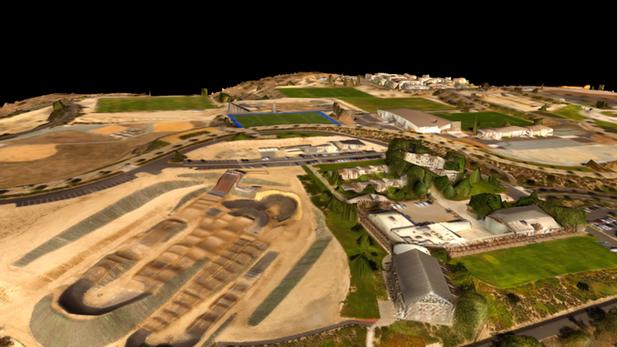 3D модели ландшафта и строений