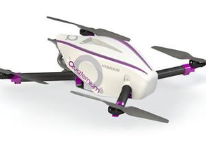 Гибридный дрон HYBRiX.20 с автономным полетом более 2 часов