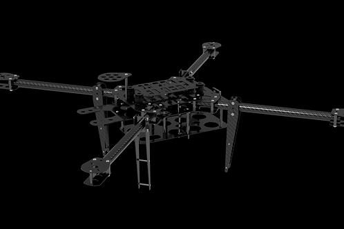 Рама автономного дрона Roboflot 700X4 V1