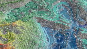 Карта высот