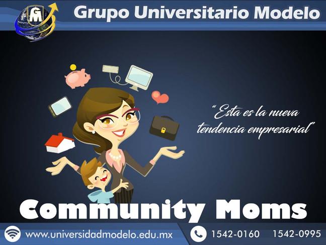 ¿Community Moms?