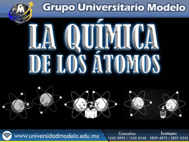 La QUÍMICA de los átomos