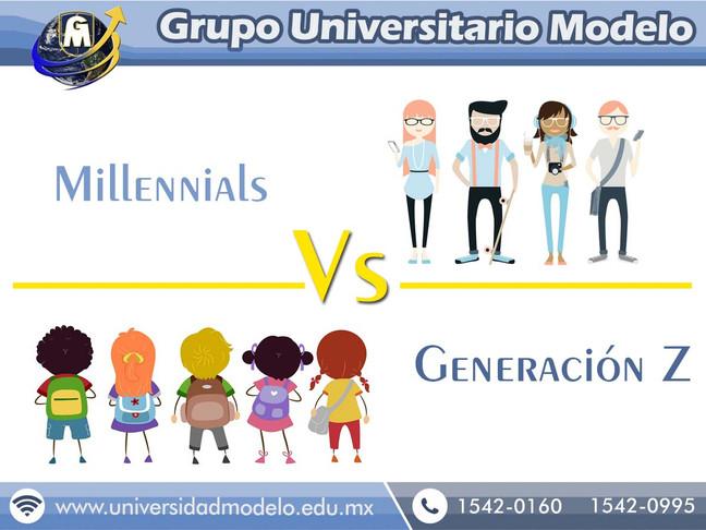 Millennials Vs Generación Z