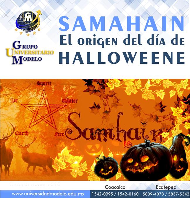 SAMAHAIN El origen del día de Halloween