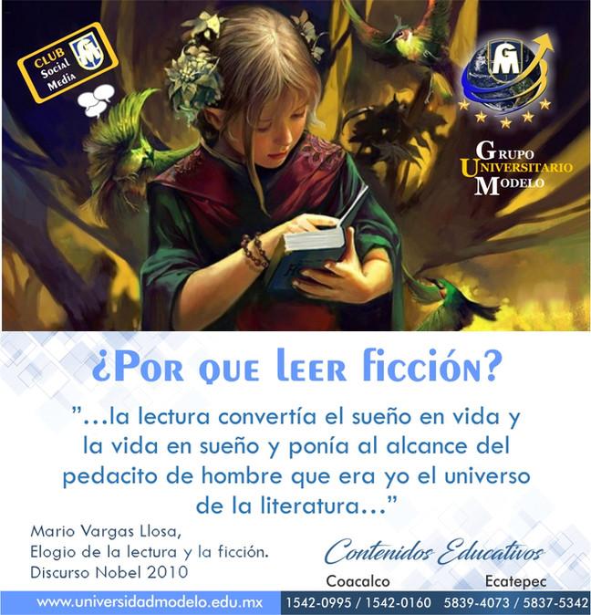 ¿Por que leer ficción?