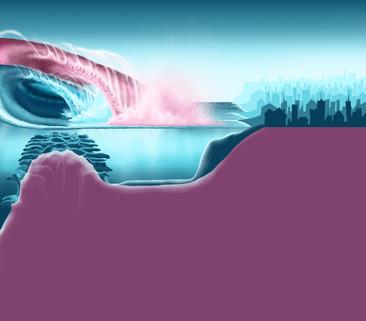 Increased wave power