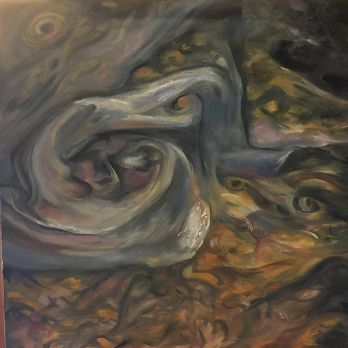 Jupiter's Perpetual Tumult