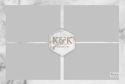 Flasz Gang Projekt Wydruku 4x4 - Kinga K