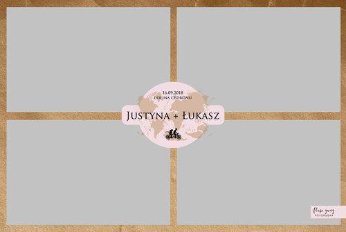 Flasz Gang Projekt Wydruku - Justyna Ska